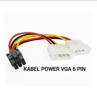 Kabel power VGA 6 pin PCI-E 6 PIN VGA MOLEX TO 6 PIN