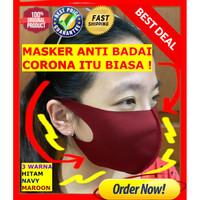 Masker Kain Korea / Masker Korea / Bisa dicuci KONVEKSI SENDIRI