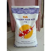 Makanan Ikan Koi PAKAN IKAN KOI (PK) 5 mm Berat 10 Kg Warna Merah