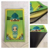 Sajadah Anak Printing Sajadah Busa Printing UK 53x88x3cm