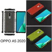 Casing Hardcase Honeycomb Oppo A5 2020 Hard Back Case