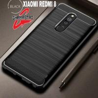 Case Xiaomi Redmi 8 Rugged Carbon Premium Softcase