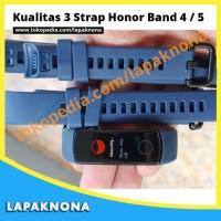 Kualitas 3 Strap Silikon Gelang Pengganti Tali Huawei Honor Band 4 5