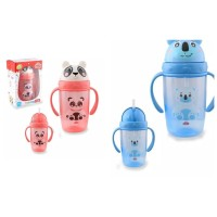 Lusty Bunny Botol Air Minum Sedotan Anak Bayi Training Cup 360 ml
