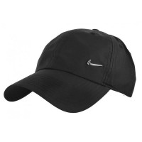 Original Topi Nike H86 Metal Swoosh Cap Black Original 943092-010