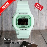Baby-G Shock BGD-560 Tosca Jam tangan digital wanita & anak anti air
