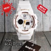 TERJUAL TERBANYAK !!! Baby-G Shock BGA-230 Full Putih White jam tangan