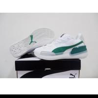 Sepatu Basket Puma Clyde Hardwood Low White Green