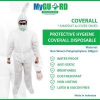 Baju Hazmat APD Alat Pelidung Diri dari Virus Waterproof 100%