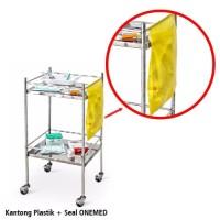 Kantong Plastik + Seal Onemed 26x34cm pak isi 100
