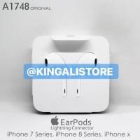 HANDFREE HEADSET EARPHONE IPHONE 7 8 SERIES X ORIGINAL A1748 KD-103637