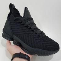 Sepatu Basket Nike Lebron 16 Triple Black