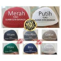 Peci Rajut Premium / Kopiah Songkok Premium