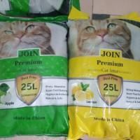 Promo Pasir Kucing Premium Join Cat Liter Paket 3 Karung/khusus Gojeg