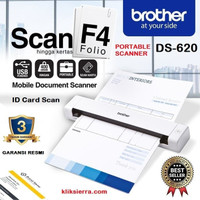 BROTHER DS-620 Portable Scanner F4 Mobile Document ID Card Scan DS620