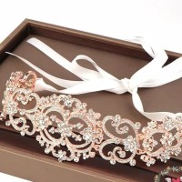 AR062 wedding accesories headpiece bando crystal
