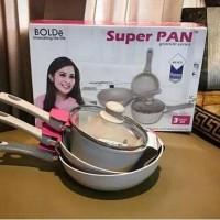 Bolde Super Pan Induksi 3 Set Granite Beige