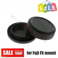 Rear Lens Tutup Belakang lensa & Body Cap Camera Fuji XA2 XA3 XA5 XA10