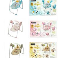 bouncer babyelle portable swing /ayunan bayi