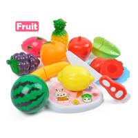 Mainan Anak - Fruit Vegetable Cut Buah Potong Isi 13 Pcs 3220A