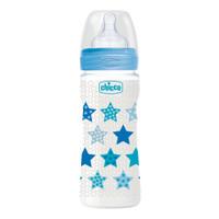 Chicco Botol Susu Bayi 330 ml Fast Flow Silicone BOY