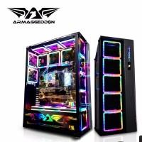 Armaggeddon Casing Nimitz Ultron With 16 Nimitz Square 14 RGB Fans