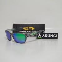 Kacamata Rudy Project Sensor Crystal Ash Multi LS Green