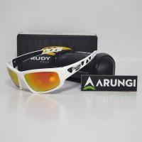 Kacamata Rudy Project Airgrip White Gloss Multi LS Orange
