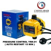 Otomatis Pressure Control York Pompa Air 01+2m