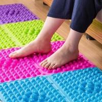 Alas Kaki Pijat Refleksi / Karpet Pijat Refleksi / - Merah Muda