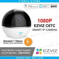 EZVIZ C6TC 1080P Dome Smart Wireless IP Camera CCTV - GARANSI RESMI