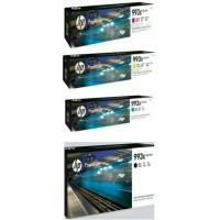 PAKETAN TINTA HP 993X BLACK DAN 993X COLOR (C.Y.M) ORIGINAL
