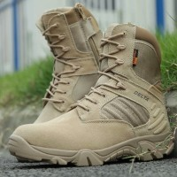 Sepatu 516 8 Inchi Tactical Boots Panjang Coklat Original Import