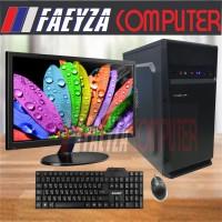 """PC Rakitan Lengkap Intel Core I5 650 Ram 8gb HDD 500gb LED LG 19"""""""