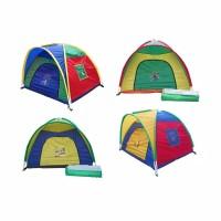Tenda Anak Dome 160 x 160 cm , Mainan Kemah Rumah Rumahan Anak