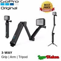 GOPRO 3 Way Grip Arm Tripod Monopod 100% ORIGINAL