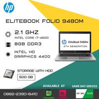 Laptop second Bisnis HP Elitebook 9480M - 8GB - 500GB BERGARANSI