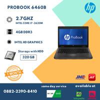 Laptop sekolah second HP 6460B Gen2 - Core i7 - Bergaransi