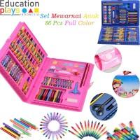 86Pcs Complete Child Coloring Set / Set Mewarnai Anak Full Color