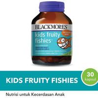 Vitamin anak..omega kids fruity fishies rasa jeruk