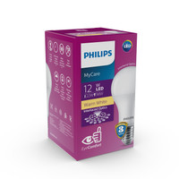 Philips LED Bulb 12W Warm White 12 Watt Bohlam MyCare E27 3000K