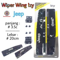 Wiper Wing - Sayap Wiper - Variasi Wiper Jeep High Quality