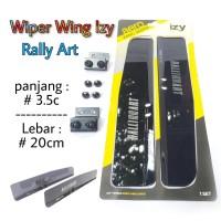 Wiper Wing - Sayap Wiper - Variasi Wiper Rally Art High Quality
