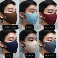 Masker dewasa scuba premium (adem.lembut.bisa di cuci) unisex