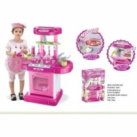 Masakan kitchen set pink koper import 008-58