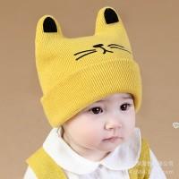 topi rajut model korea lucu untuk anak laki laki dan perempuan