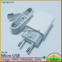 Charger Oppo F7 F7+ ORIGINAL 100% Micro USB 2A Resmi Indonesia