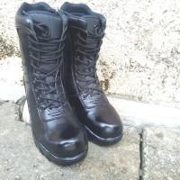 sepatu pdl sleting safety TNI security