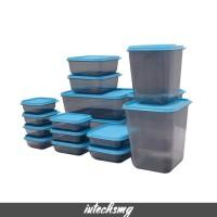 Toples Lebaran Kue Kering Plastik Tupperware Toples Set Calista 17 Pcs