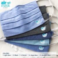 Masker Kain Airmask 3 ply included filter / Masker Kain Filter